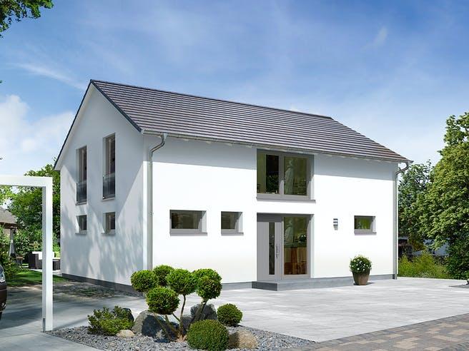 Landhaus 142 Modern von Town & Country Haus Deutschland Außenansicht 1