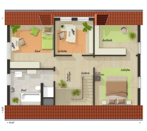 Town & Country - Landhaus 142 Floorplan 2