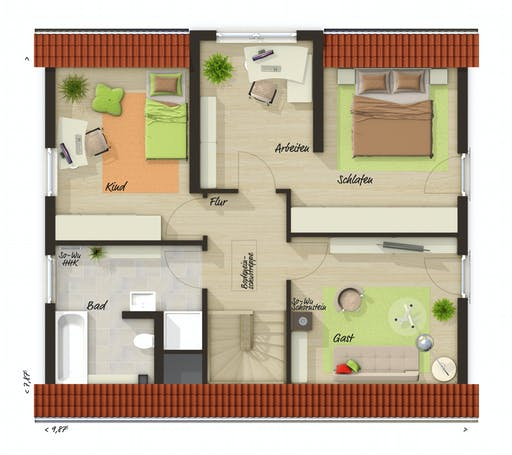 Town & Country - Lichthaus 121 Floorplan 2