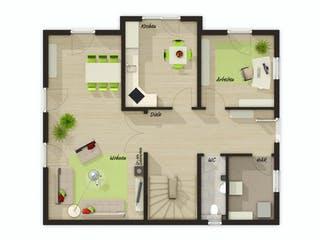 Lichthaus 152 von Town & Country Haus Grundriss 1