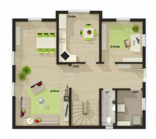 Town & Country - Lichthaus 152 Floorplan 1