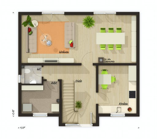 Town & Country - Lifestyle 120 Floorplan 1