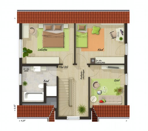 Town & Country - Lifestyle 120 Floorplan 2