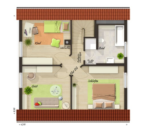 Town & Country  - Raumwunder 100 Floorplan 2