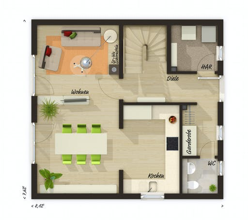Town & Country - Raumwunder 90 Floorplan 1