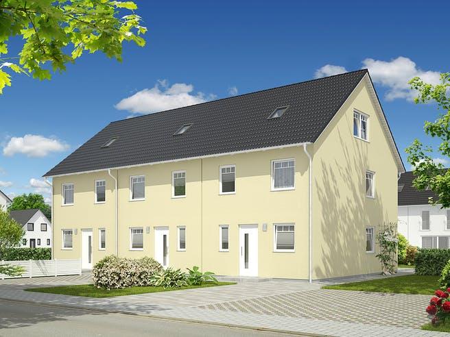 Mainz 128 Reihenmittelhaus von Town & Country Haus Deutschland Außenansicht 1