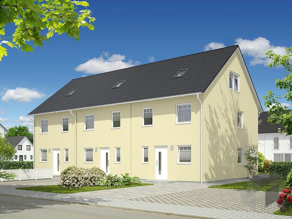 Mainz 128 Reihenmittelhaus von Town & Country Haus Deutschland Außenansicht