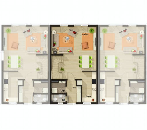 Town & Country - RH Mainz 128 Floorplan 1