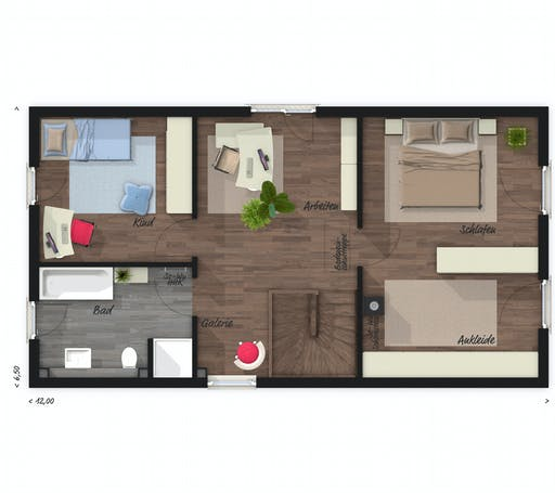 Town & Country - Stadthaus Aura 125 Floorplan 2