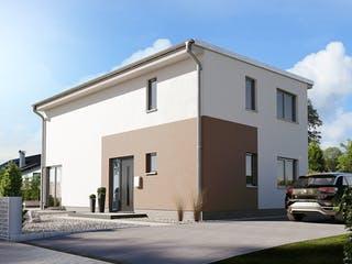 Stadthaus Aura 136 von Town & Country Haus Deutschland Außenansicht 1