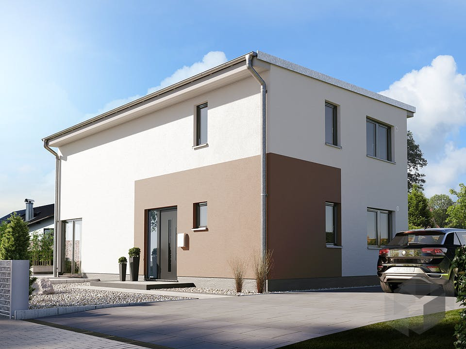 Stadthaus Aura 136 von Town & Country Haus Außenansicht