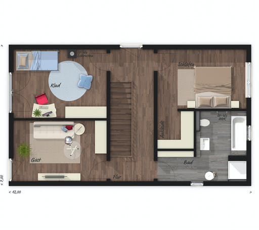 Town & Country - Stadthaus Aura 136 Floorplan 2