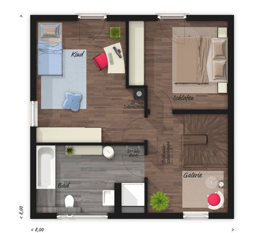 Town & Country  - Stadthaus 100 Floorplan 2