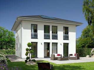 Stadtvilla 145 ZD von Town & Country Haus Deutschland Außenansicht 1