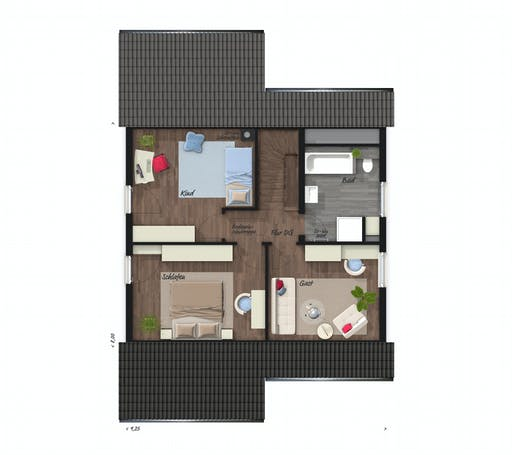 Town & Country - Wintergartenhaus 118 Floorplan 2