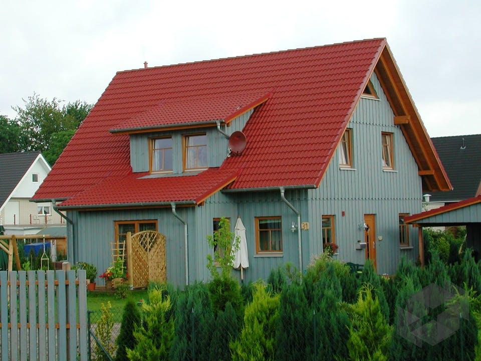 Tineke (KfW-Effizienzhaus 40) von Dammann-Haus Außenansicht