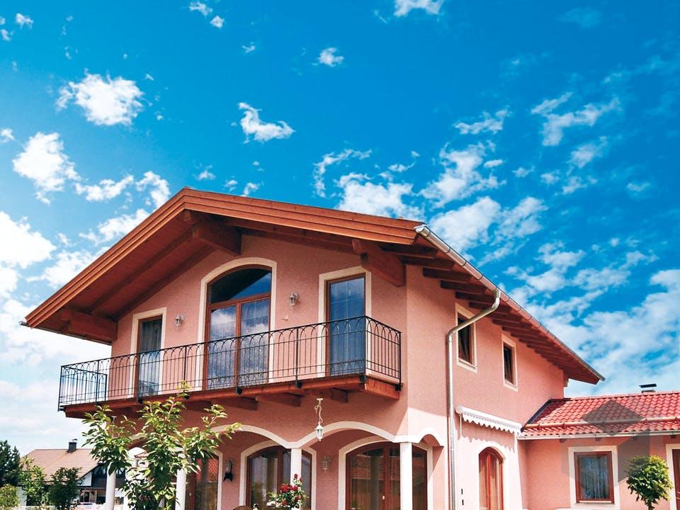 Toskanische Villa von ISARTALER HOLZHAUS Außenansicht