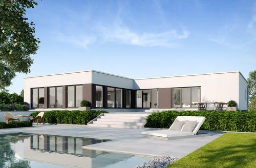 Bungalow for Bungalow modern mit garage