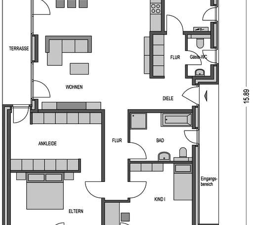Trend 3000.2 Floorplan 1