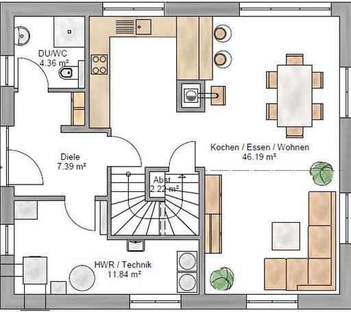 Trendline 140 Floorplan 1