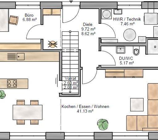 Trendline 142 Floorplan 1