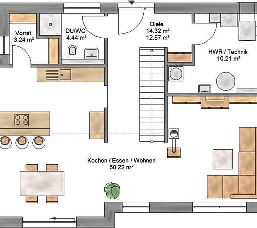 Trendline 154 Floorplan 1
