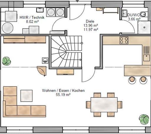 Trendline 155 Floorplan 1