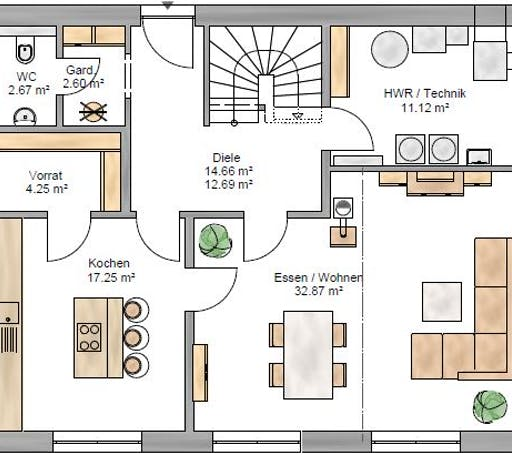 Trendline 166 Floorplan 1
