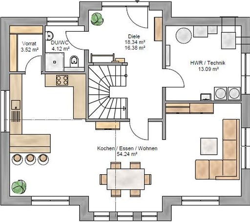 Trendline 180 Floorplan 1