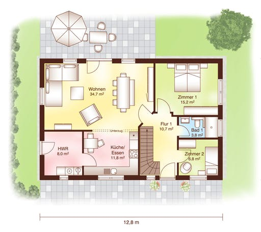 Tromsö Floorplan 1