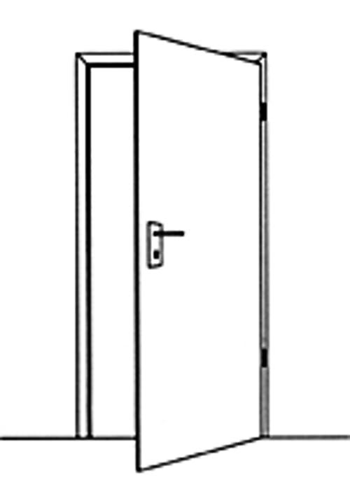 Tür rechts