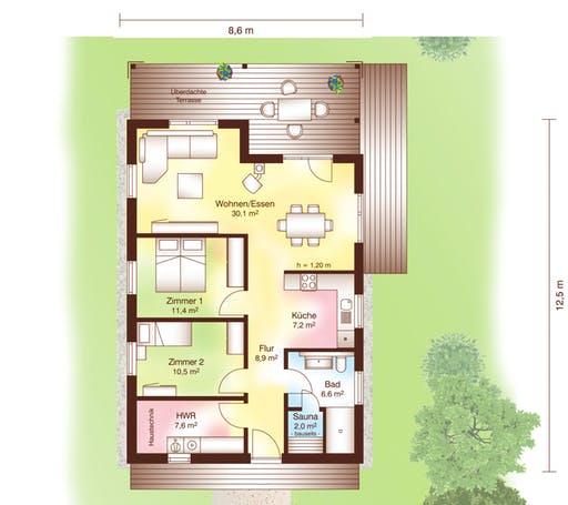 Tunö Floorplan 1