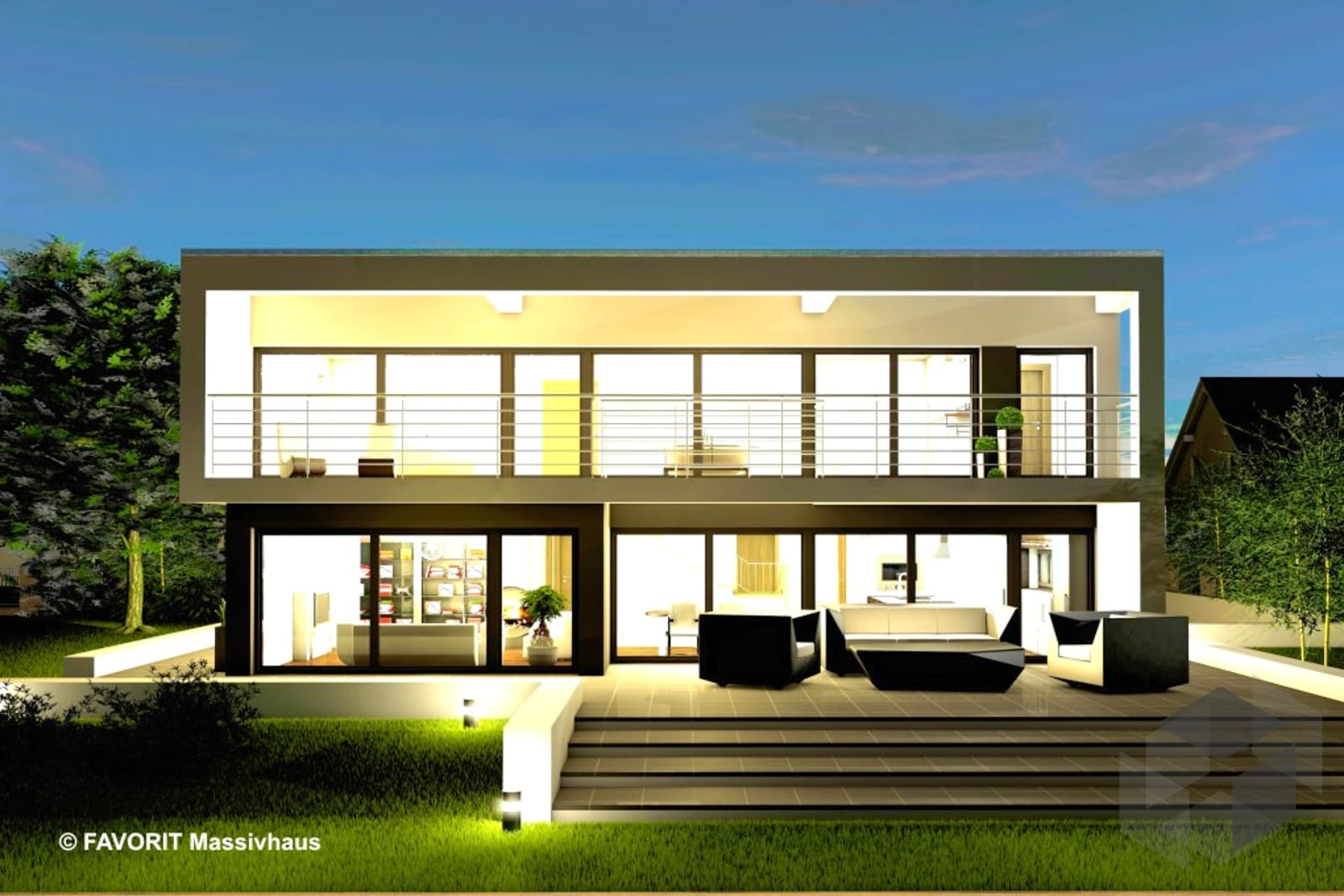 twentyfive 220 von favorit massivhaus komplette daten bersicht. Black Bedroom Furniture Sets. Home Design Ideas