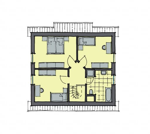 Gussek Haus - Ulmenallee Var. 1 DG