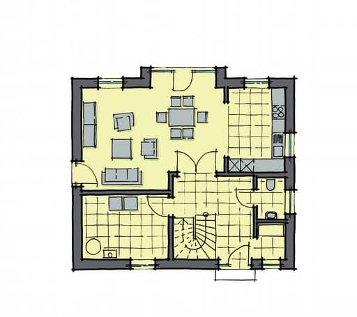 Gussek Haus - Ulmenallee Var. 1 EG