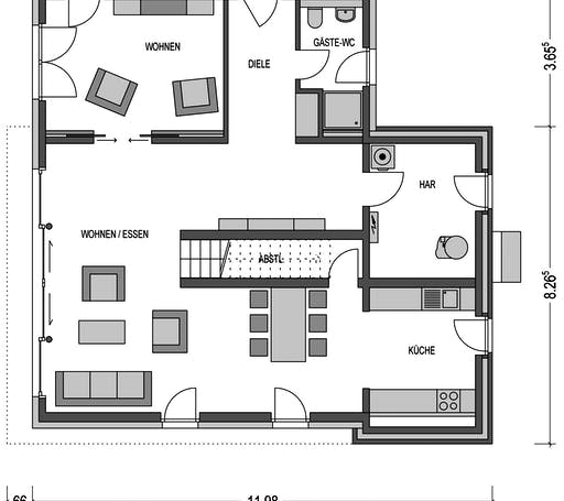 Urban 4000.2 Floorplan 1