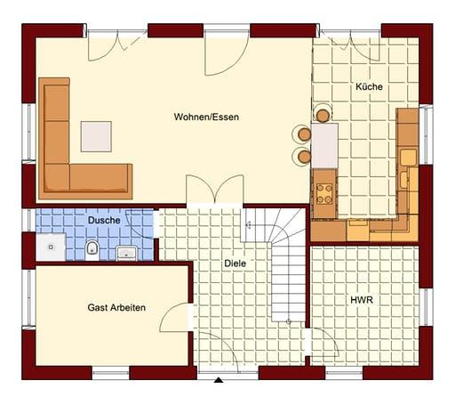 Einfamilienhaus Usedom Floorplan 1