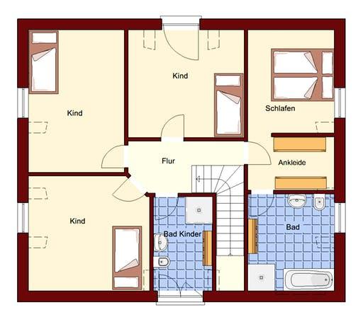 Einfamilienhaus Usedom Floorplan 2