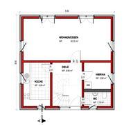 BK Bau-Konzept V100 Grundriss