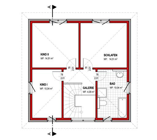BK Bau-Konzept V100 Floorplan 2