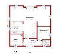 BK Bau-Konzept V220 Grundriss