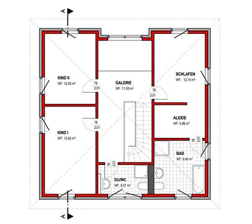 BK Bau-Konzept V220 Floorplan 2
