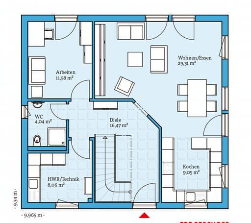 variant 35 153 von hanse haus komplette daten bersicht. Black Bedroom Furniture Sets. Home Design Ideas