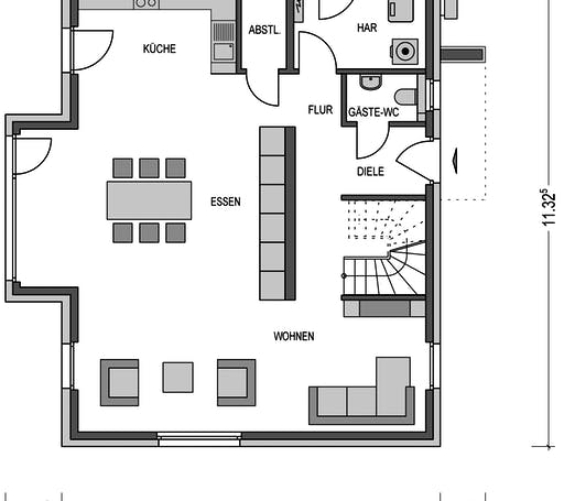 Variant 2000.2 Floorplan 1