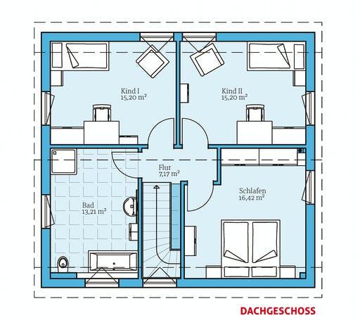 Hanse - Variant 25-135 Floorplan 2