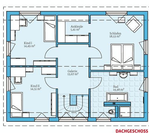 Hanse - Variant 25-165 Floorplan 2