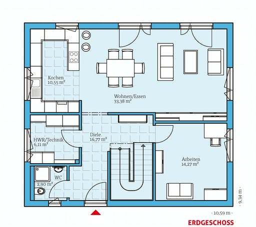 Hanse - Variant 25-166 Floorplan 1