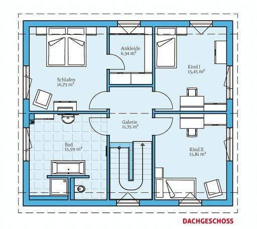 Hanse - Variant 25-166 Floorplan 2