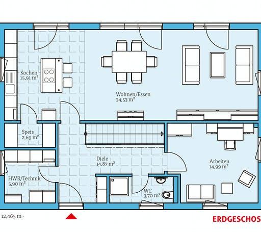 Hanse - Variant 25-183 Floorplan 1