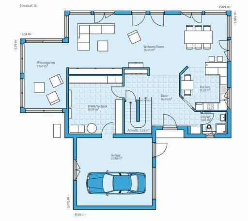 Hanse - Variant 275 Floorplan 1
